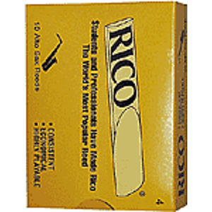 Rico Alto Sax Reeds - Thickness: 3 1/2 (box of 10)