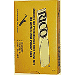 Rico Baritone Sax Reeds - Thickness: 3 (box of 10)