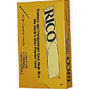 Rico Bb Clarinet Reeds - Thickness: 2 1/2 (box of 10)