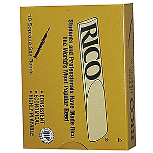 Rico Soprano Sax Reeds - Thickness: 3 1/2 (box of 10)