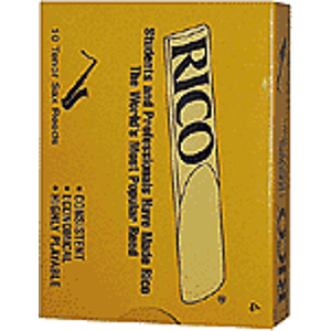 Rico Tenor Sax Reeds - Thickness: 2 1/2 (box of 10)