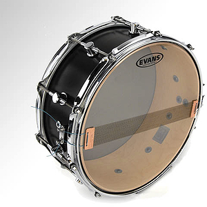 Evans Hazy 300 Snare Side Drum Head - 14""