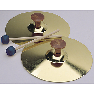 "Hohner Children's Small (5"") Cymbals With Mallets"