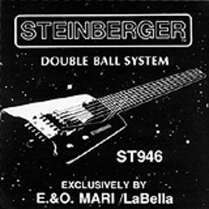 La Bella Steinberger Electric Guitar Strings - Extra Light, 3 Sets
