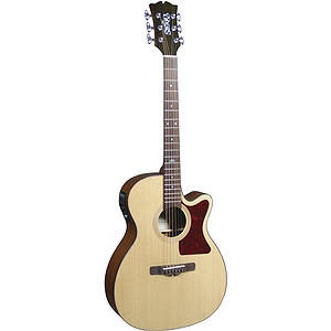 Sierra Sunrise Auditorium Acoustic Electric Guitar - Natural Gloss