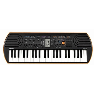 Casio SA-76 Portable Mini 44-Key Keyboard