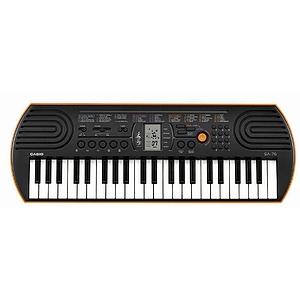 Casio SA-76 Portable Mini 44-Key Keyboard