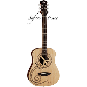 Luna Safari Peace Travel/Mini Acoustic Guitar