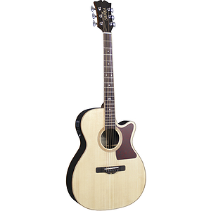 Sierra Sunrise Auditorium Acoustic Electric Guitar - Natural