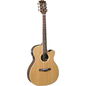 Sierra Sunrise Series SAS40CE Cedar Top Acoustic-Electric Guitar