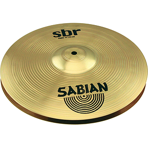 Sabian Sbr Hi-Hat Cymbals, 13&quot; (Pair)