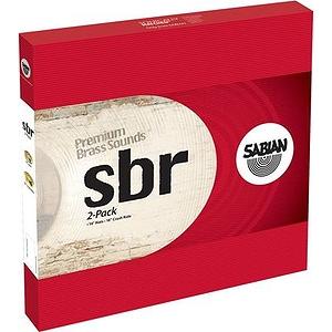 Sabian SBr 2-Pack Cymbal Set