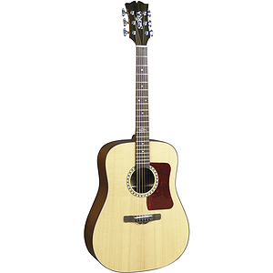 Sierra Sequoia Series Dreadnought Acoustic Guitar - Natural Gloss