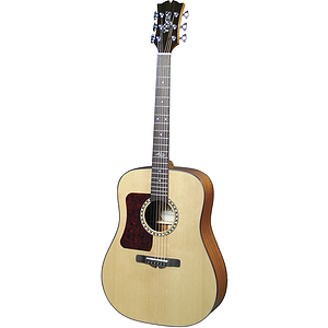 Sierra Sequoia Left Handed Acoustic Guitar - Natural