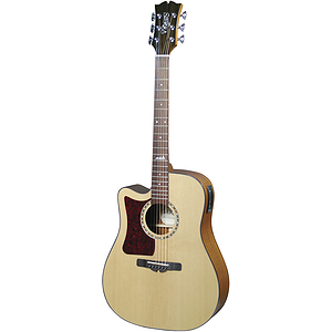 Sierra Alpine Left-handed Acoustic Electric Guitar