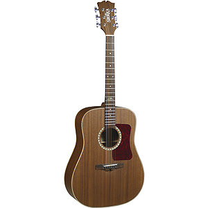 Sierra Sequoia Acoustic Dreadnought Guitar - Natural Satin