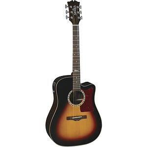Sierra SDS55CETS Alpine Acoustic-Electric Guitar - Tobacco Sunburst