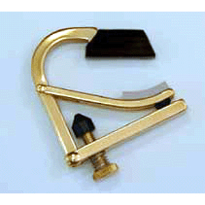 Shubb Partial Guitar Capo - Brass