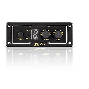 Shadow SH NFX EQ-TUK Ukulele Preamp with Tuner and Nanoflex Pickup