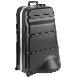 SKB SKB-385W Universal Mid-Size Tuba Case with Wheels