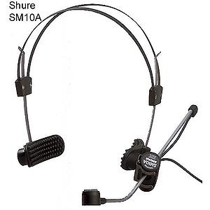 Shure SM10A-CN Headworn Dynamic Microphone