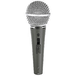 Shure SM48 Dynamic Vocal Microphone