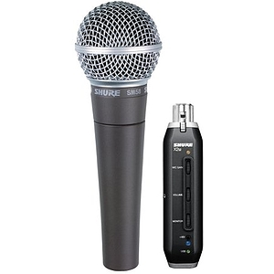Shure SM58 Vocal Microphone with USB Covnerter