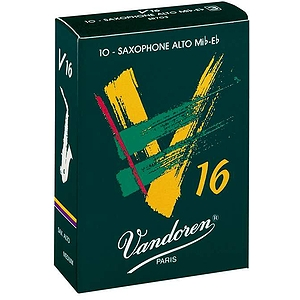 Vandoren V-16 Series Alto Sax Reeds - thickness: 3 - box of 10