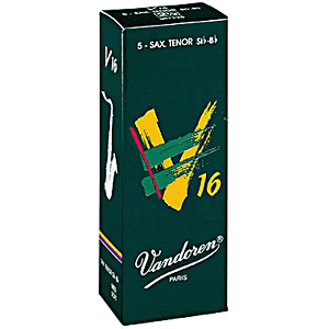 Vandoren V-16 Series Tenor Sax Reeds - thickness: 3.5 - box of 5