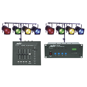 MBT Stage 403 Complete DMX Stage Lighting Package