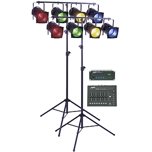 MBT Stage 803 Deluxe DMX Stage Lighting Package