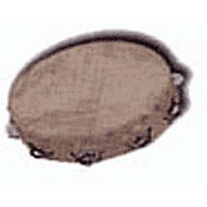 """10"""" Tambourine - Wood Shell"""