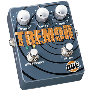 BBE Tremor Dual Tremolo Guitar Effects Pedal