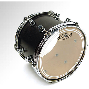 Evans EC1 Clear Tom Drum Batter Head - 6""