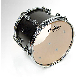 Evans G2 Clear Tom Drum Batter Head - 6""