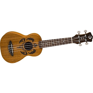Luna Guitars Soprano Honu Turtle Ukulele With Gig Bag