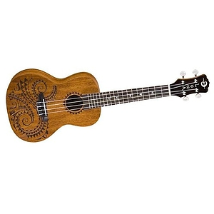 Luna Guitars Tattoo Concert Mahogany Ukulele