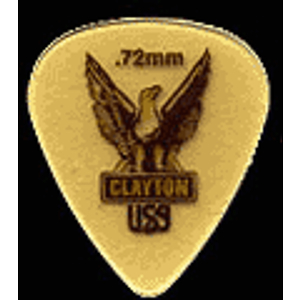 Clayton Ultem Gold Standard Picks, bag of 48 - .38mm