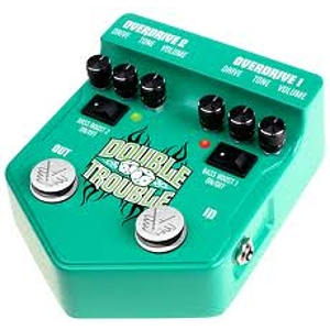 Visual Sound V2DT Double Trouble Distortion Pedal