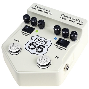 Visual Sound V2 Route 66 Overdrive &amp; Compression Pedal