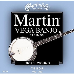 Martin Vega Tenor Banjo Strings - 3 Sets