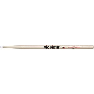 Vic Firth American Classics 2-B Drumsticks - Nylon tip, 3 pairs