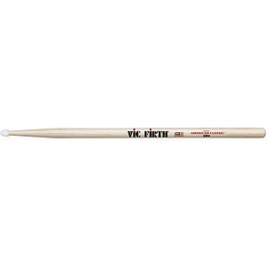 Vic Firth American Classics 5-B Drumsticks - Nylon tip, 3 pairs