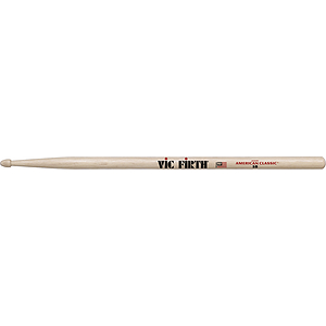 Vic Firth American Classics 5-B Drumsticks - Wood tip, 3 pairs
