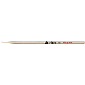 Vic Firth American Classics 7-A Drumsticks - Nylon tip, 3 pairs
