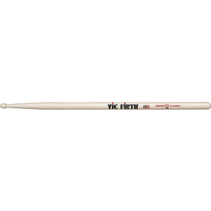 Vic Firth American Classics 7-A Drumsticks - Wood tip, 3 pairs