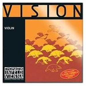 Thomastik Vision Violin Strings Set, Silver D 4/4 Size