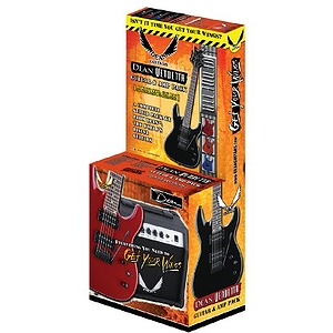 Dean VNXMTMPK Vendetta X Electric Guitar Starter Pack - Black