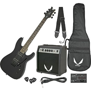 Dean VNXMTMPK Vendetta X Electric Guitar Starter Pack - Red