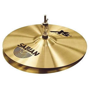 "Sabian Xs20 Medium Hi-hat Cymbals, 13"" - Brilliant"